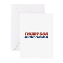 Thompson for President Greeting Cards (Pk of 10)