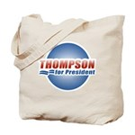 Thompson for President Tote Bag