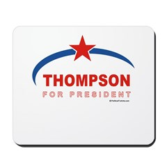 Thompson for President Mousepad