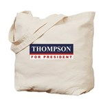 Fred Thompson for President Tote Bag