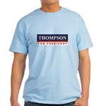 Fred Thompson for President Light T-Shirt