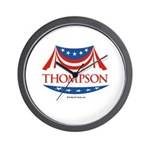 Fred Thompson Wall Clock