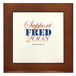 Support Thompson Framed Tile