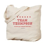 Team Thompson Tote Bag