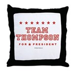 Team Thompson Throw Pillow
