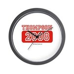 Thompson 2008 Wall Clock