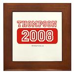 Thompson 2008 Framed Tile