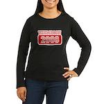 Thompson 2008 Women's Long Sleeve Dark T-Shirt
