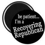 Recovering Republican Magnet (10 pack)