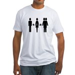 Man + Woman = Thingy Fitted T-Shirt