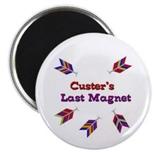"Unique Custers last stand 2.25"" Magnet (100 pack)"
