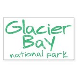 Glacier Bay National Park (Graffiti) Decal