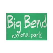 Big Bend National Park (Graffiti) Rectangle Magnet