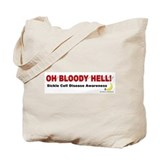 Bloody Hell (Sickle) Tote Bag