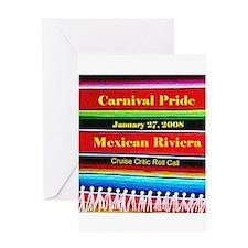 Carnival Pride 1-27-08 - Greeting Card