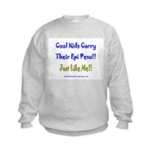 Cool Kids Carry Epi Pens Sweatshirt