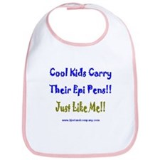 Cool Kids Carry Epi Pens Bib
