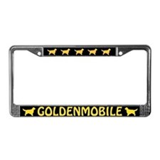 Goldenmobile License Plate Frame