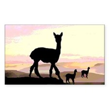 Sunset Hills Alpacas Decal