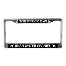 Irish Water Spaniel (best friend) License Frame