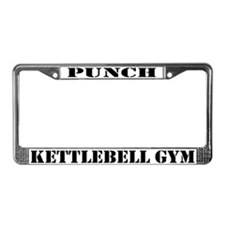 Funny Puch License Plate Frame