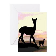 Sunset Hills Alpacas Greeting Cards (Pk of 10)