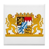 Bayern Coat of Arms Tile Coaster