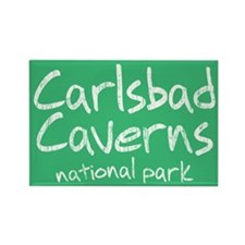 Carlsbad Caverns National Park (Graffiti) Rectangl