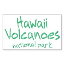 Hawaii Volcanoes National Park (Graffiti) Decal