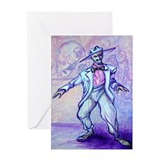 Funny Bluesy Greeting Card