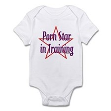 Porn Star in Training Infant Bodysuit