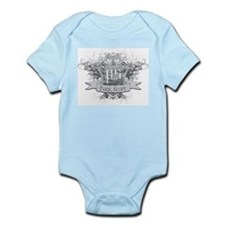 Park Slope Infant Bodysuit (blue, white, pink)