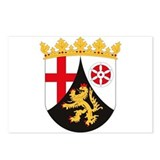 Rheinland Pfalz Coat of Arms Postcards (Package of