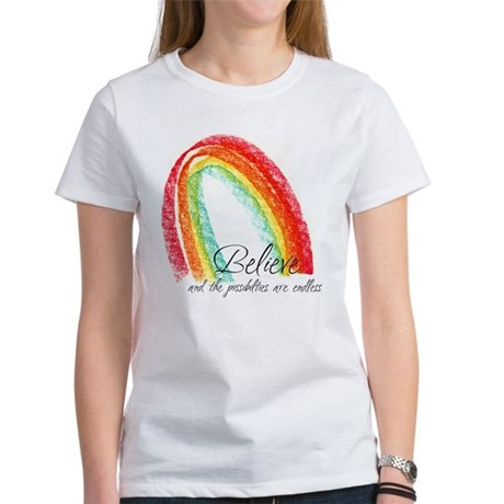 BELIEVE Women's T-Shirt