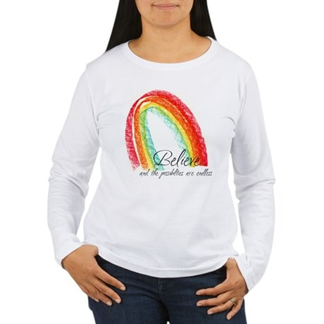 BELIEVE Women's Long Sleeve T-Shirt