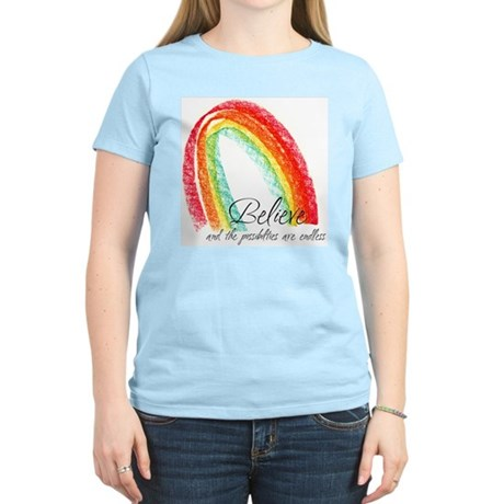 BELIEVE Women's Light T-Shirt