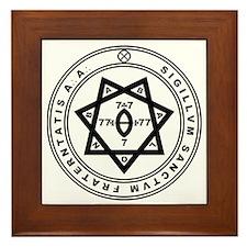 Sigillum Sanctum Fraternitati Framed Tile