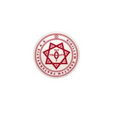 Sigillum Sanctum Fraternitati Mini Button (10 pack