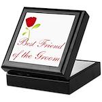 Red Groom's Best Friend Keepsake Box