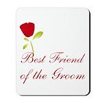 Red Groom's Best Friend Mousepad