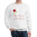 Red Groom's Best Friend Sweatshirt