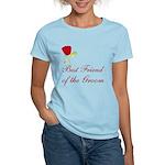 Red Groom's Best Friend Women's Light T-Shirt