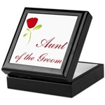 Red Groom's Aunt Keepsake Box