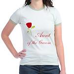 Red Groom's Aunt Jr. Ringer T-Shirt