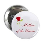 Red Groom's Mother Button