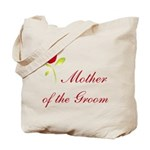 Red Groom's Mother Tote Bag