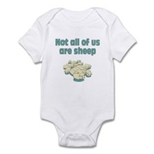 NOT ALL SHEEP Infant Bodysuit