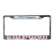 Cute Sudden infant death License Plate Frame