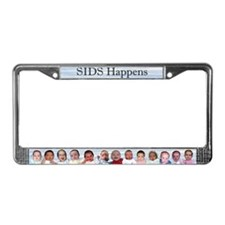 Unique Sudden infant death License Plate Frame