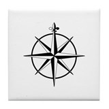 Funny Sailing Tile Coaster
